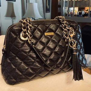 """Kate Spade Quilted """"Georgeiana"""" Braided/Chained"""